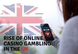 Rise of Online Casino Gambling in the UK