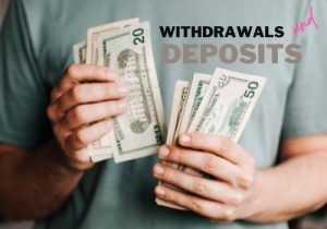 withdrawals and deposit
